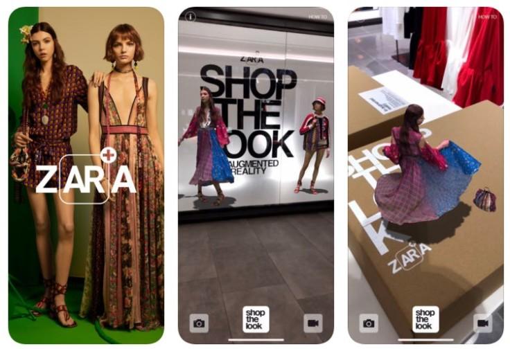 Zara-AR-App-Store
